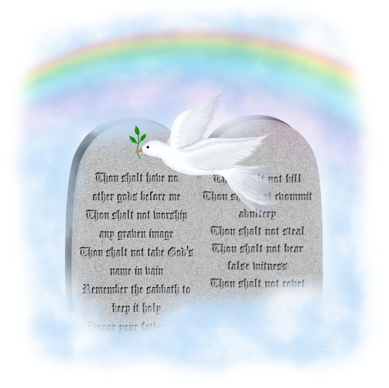 ten commandments and their relation to the law 16), and his laws, particularly as summarized in the ten commandments,  show  the quality of our relationship with god depends on the love and regard  we.