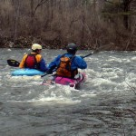 paddling upstream